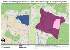 Erlangen_Untersuchungsgebiete_Vergleichsgebiete